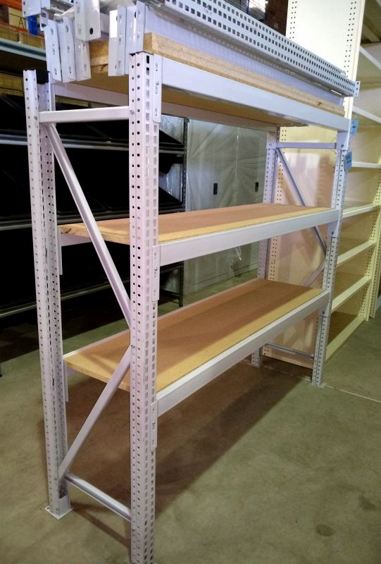 Maxispan Shelving Unit with 3 Particleboard Levels