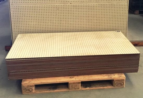 Secondhand Perforated Particle Board